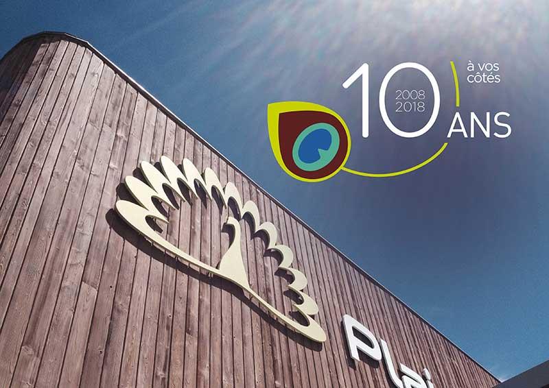 Notre story : 10 ans à vos côtés